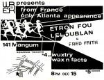 Etron Fou Leloublon & Fred Frith