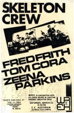 Skeleton Crew; Fred Frith; Tom Cora; Zeena Parkins