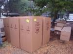 New antenna bays as shipped