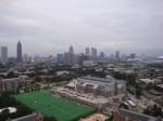 View of downtown from 300 ft