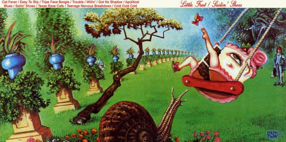 "Cover art of ""Sailing Shoes"" by Little Feat"