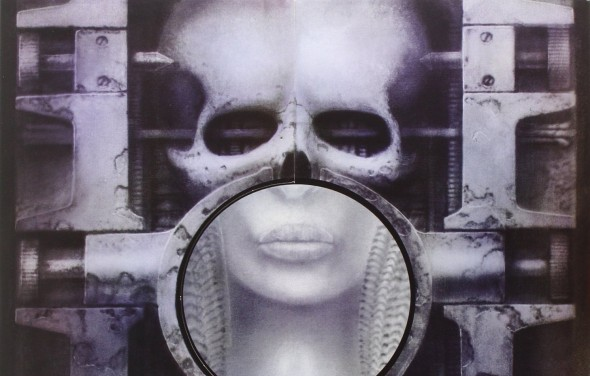 "cover of ""Brain Salad Surgery"" by ELP"