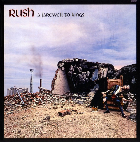 """Cover of """"A Farewell to Kings"""" by Rush"""